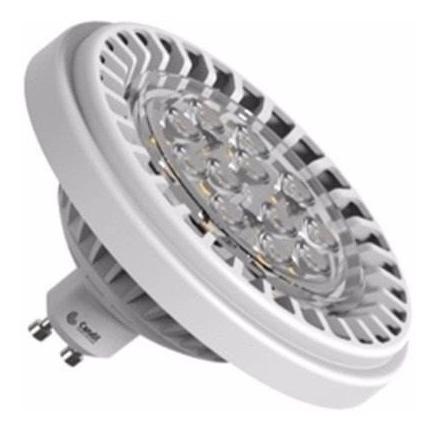 lámpara led ar111 12w 220v calida dimerizable candil esdj