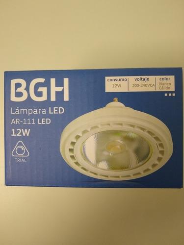 lampara led ar111 12w dimerizable 220v gu10 calida bgh x10un