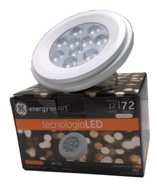 lampara led ar111 led 12w 12v calida - general electic