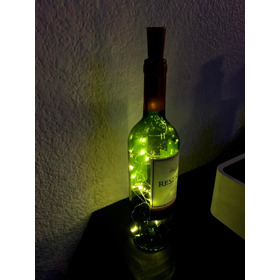 Lampara Led Botella De Vino