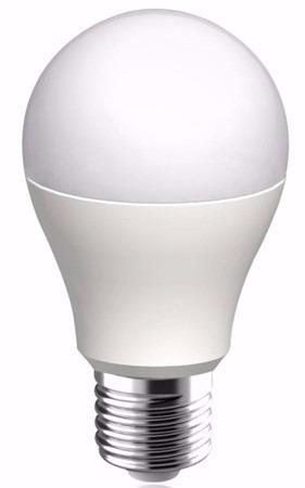 lampara led bulbo 10w luz calida y fria rosca e27 baw