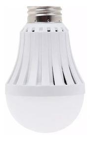E27 Emergencia Lámpara 15w 9x Led Bulbo Luz Fría Autónoma vby6f7Yg