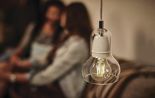 lampara led classic filamento 8w fría dimerizable glowlux