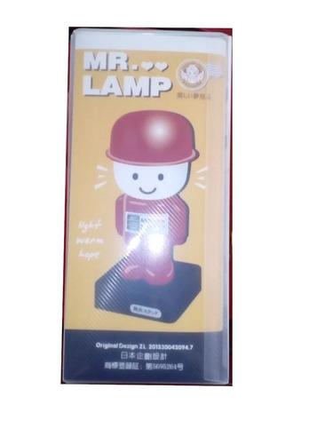 lámpara led con entrada usb, pilas