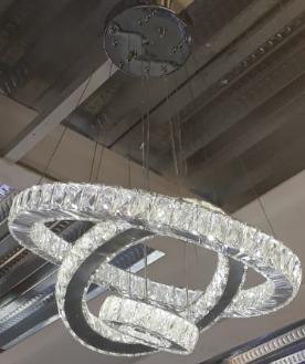 Modernas Colgante Lámparas Cristal LamparaLed Luz clK13uF5TJ