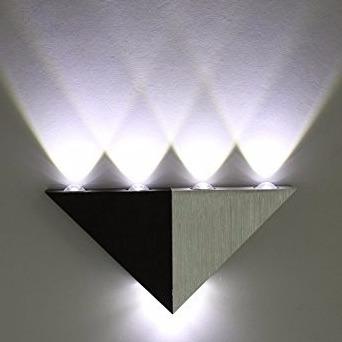 lampara led de aplique decorativa de pared w