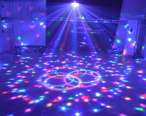 lampara led de colores escenario discoteca pub bar