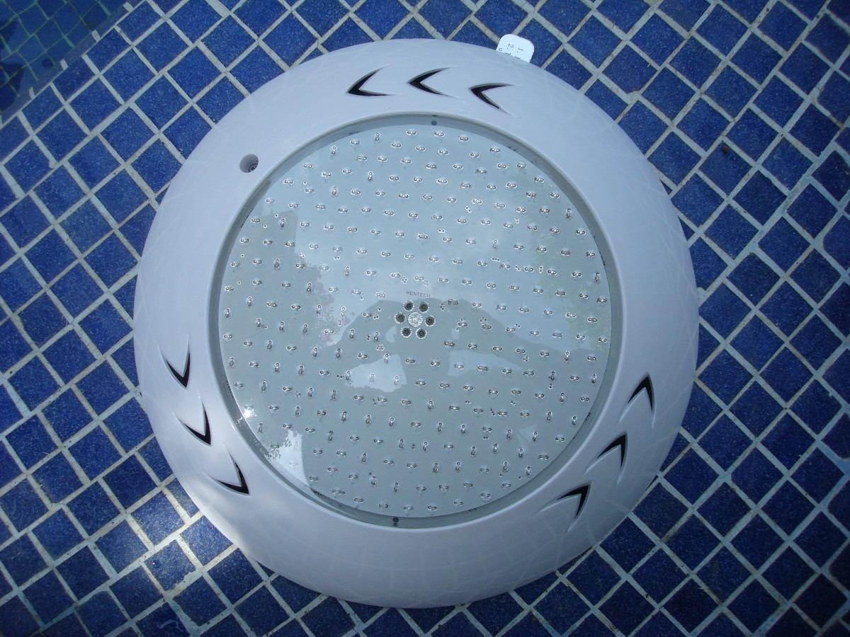 lampara led de colores para alberca uso rudo rgb resina