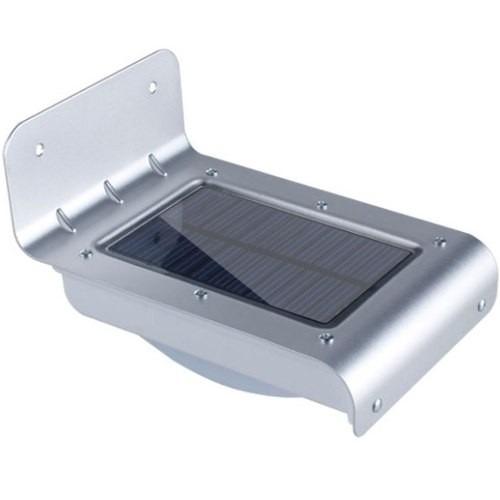 lámpara led de energía solar con sensor de luz y movimiento!