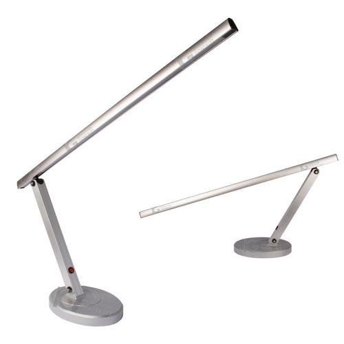 lámpara led de escritorio grande cromada envio gratuito