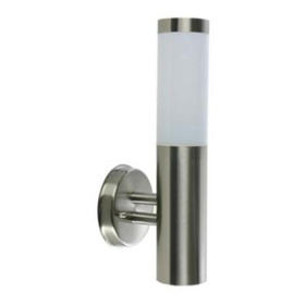 Lámpara Led De Pared Exterior Arbotante Poste Vertical Calux