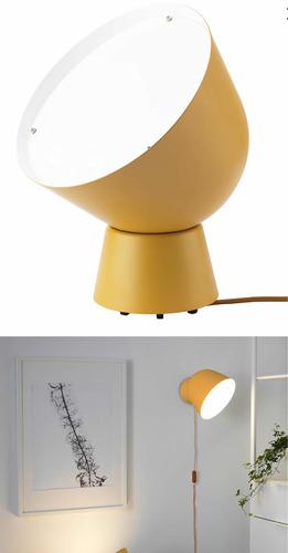 lámpara led de pared lámpara de mesa led amarilla