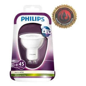 Lampara Led Dicroica Philips Gu10 4,5w 220v - Blanco Calido