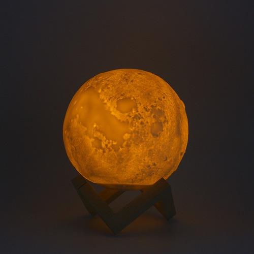 lampara led diseño luna moon lamp decoracion morph