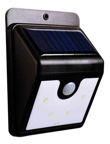 lampara led exterior cn panel solar y sensor de movimiento ®