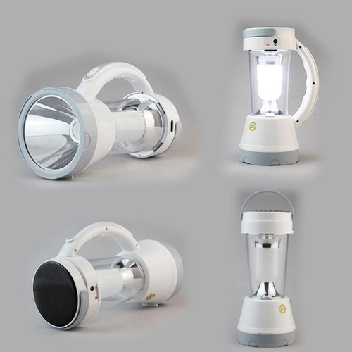 lampara led farol linterna luz emergencia recarble usb