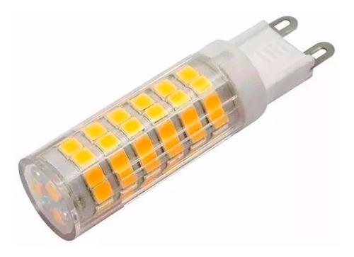 lampara led foco 220v bipin g9 10w frío cálido garantía
