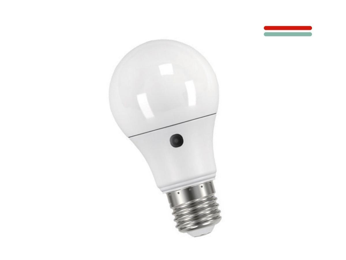 Luz 9w Fria Lámpara Fotocelula Led On0Pwk8