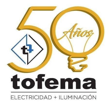 lámpara led galponera 30w focos 220v e27 luz fria - tofema