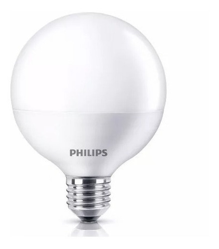 lampara led globo philips 13w / 15w = 100w calida fria gti