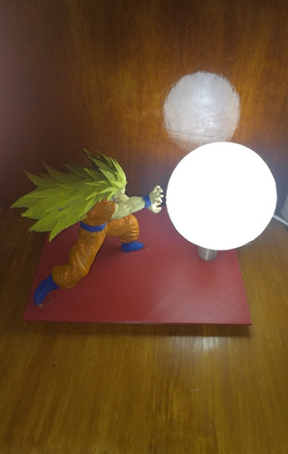 lampara led goku dragon ball