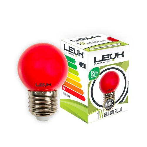 lampara led gota 1w e27 guirnalda azul rojo calida colores
