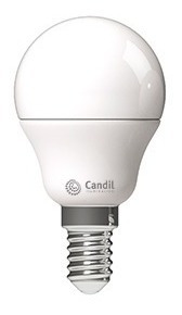 lámpara led gota e14 5w 3000k/6500k 470 lumenes le14-g4505