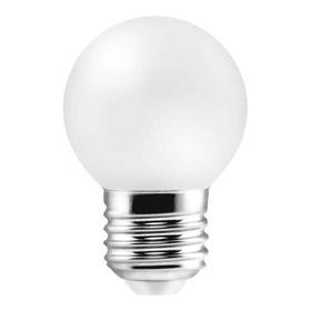 Lámpara Led Gota Opal E27 1w Luz Colores Guirnaldas Full