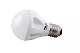 lámpara led hi-power a60 7w 220v e27 luz cálida sica