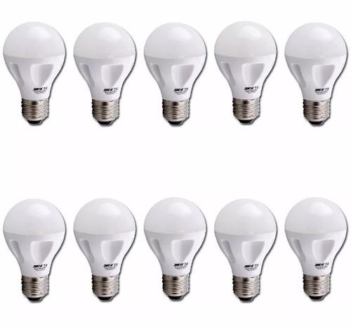 lámpara led hi-power a60 9w e27 luz cálida sica