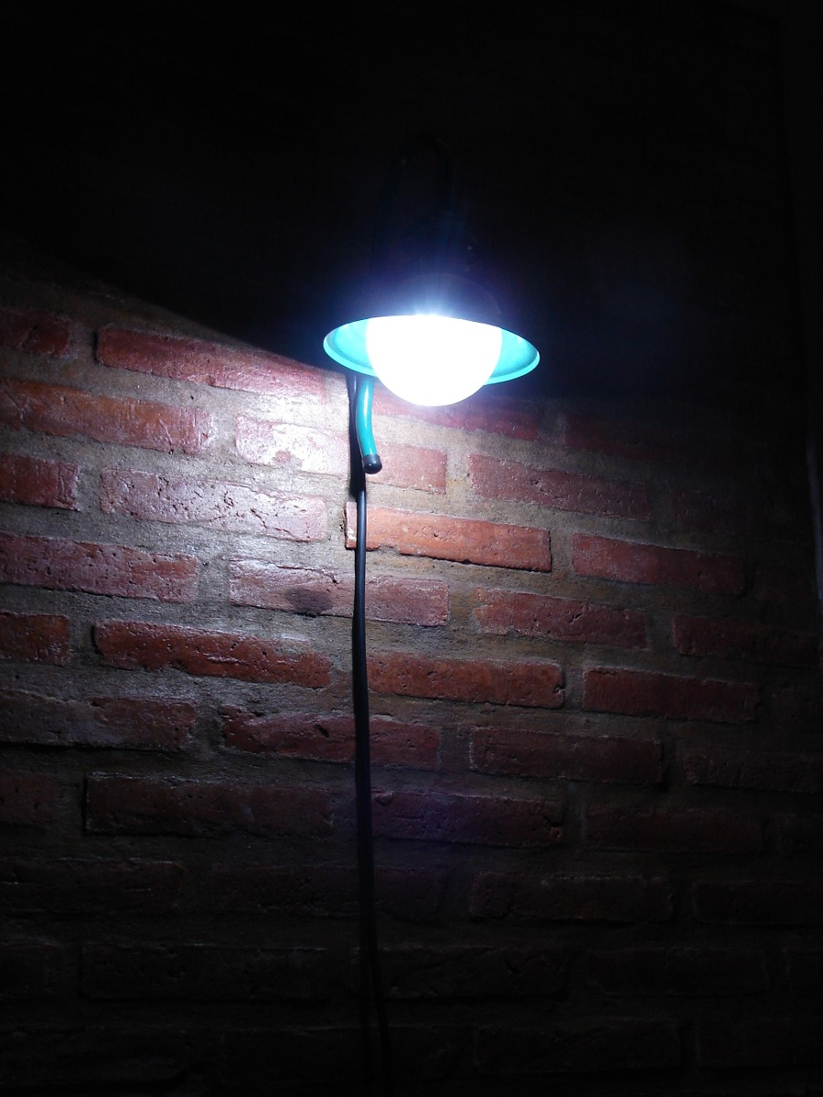 lmpara led iluminacin jardn