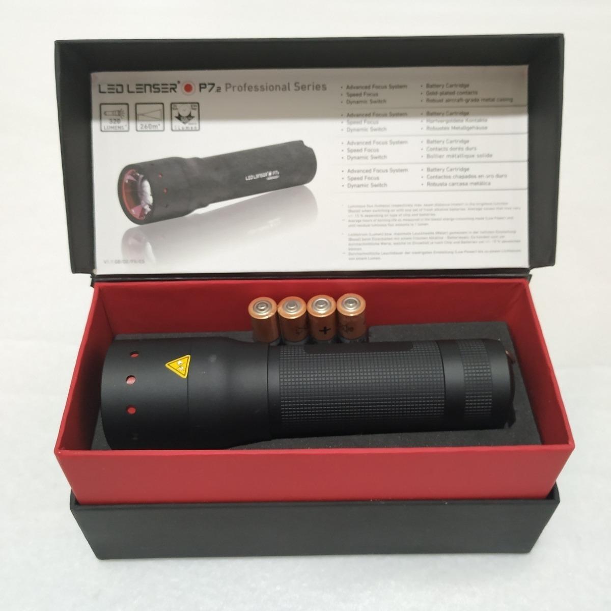 P7 2 Lámpara Led Lenser l1JcFK