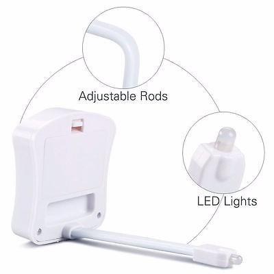 lampara led luz nocturna sanitario toilet activa movimiento
