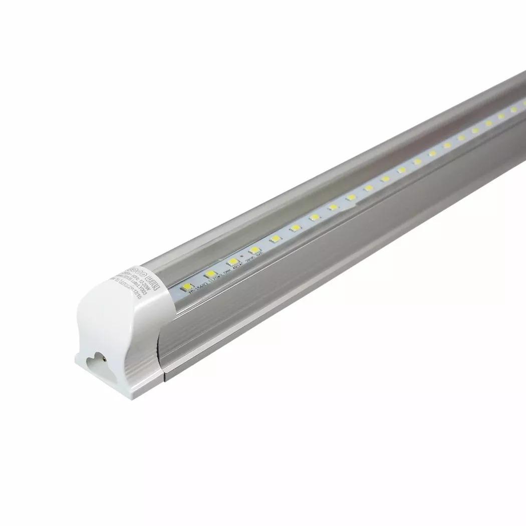 Lampara led mavrik base aluminio 21 w de tubo t8 for Lampara de mesa led