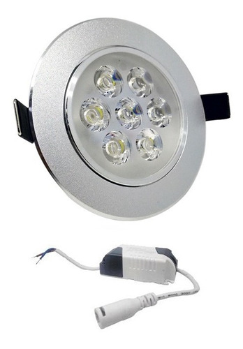 lampara led ojo de buey 7` x 1w rw7252 megawattu.e.:50