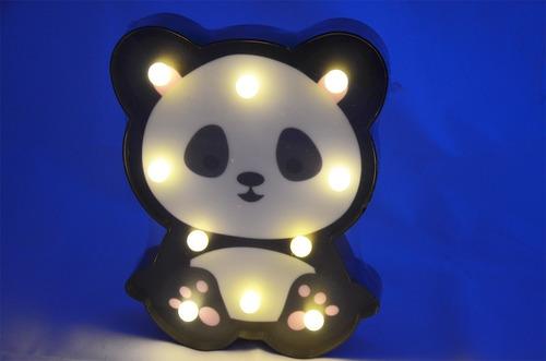 lámpara led oso panda  decorativa doble uso ld09