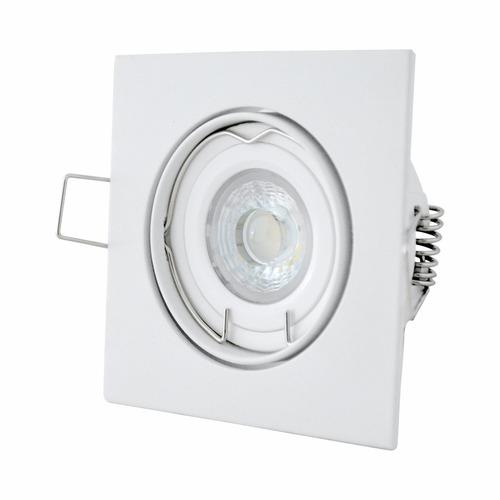 lámpara led osram cuadrada de 6 wts luz  blanca
