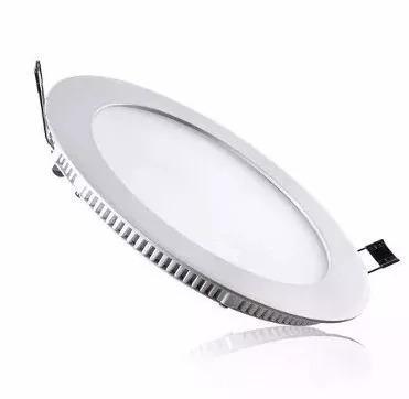 lámpara led panel 18w ojo de buey ultraplana 6500k redonda