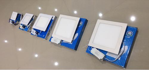 lampara led panel 24w cuadrada empotrar luz blanca 30x30 cms