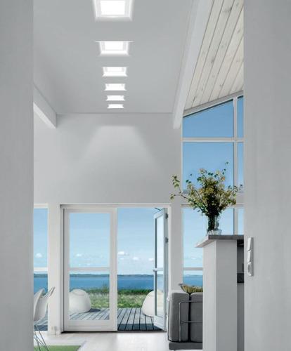 lampara led panel 6w spot ojo de buey ultraplanas