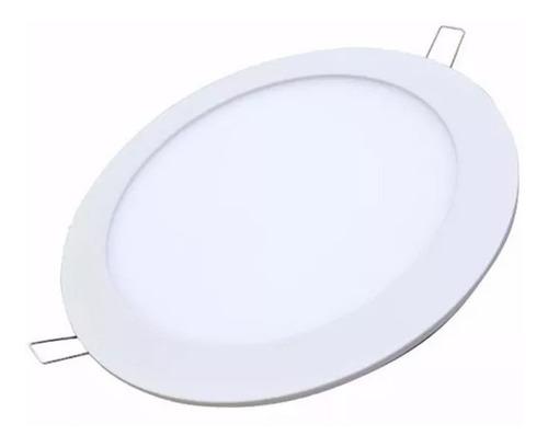 lampara  led panel 6w spot ojo de buey ultraplanas  al mayor