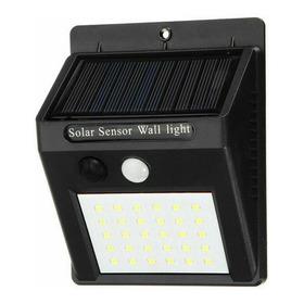 Lampara Led Panel Solar Fija Sin Sensor Blanco Frio