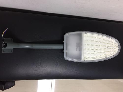 lampara led para calle con foto celda de 24w
