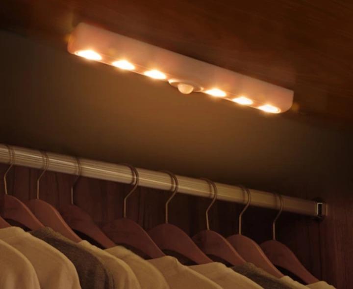 35c7d1552fc Lampara Led Para Gabinete O Closet De Baterias -   230.00 en Mercado ...