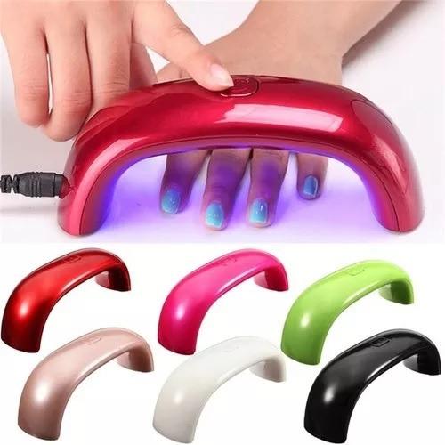 lampara led para uñas secado rapido uv/led nail driver