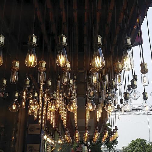 lampara led pera filamento vintage deco 8w dimerizable e27