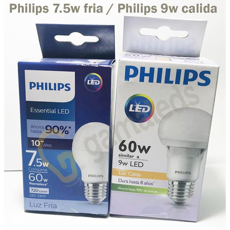 7 8w Foco Lampara 9w60w 220v Led Ahorro Philips 5w E27 FTlKJ1c