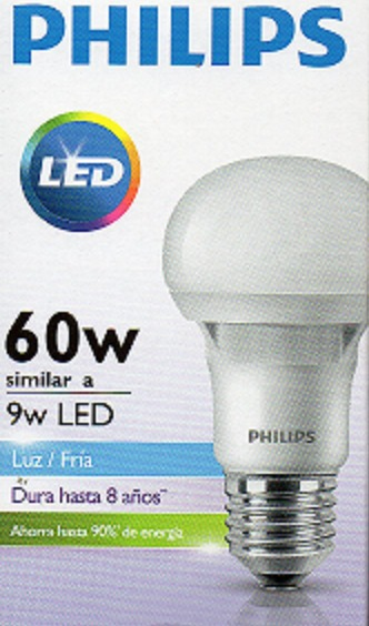 Fria Dia 9w Pack Eilat Philips X Luz Lampara 10 Led E27 DHIE29
