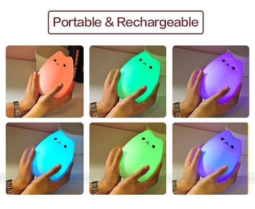 lampara led proyector  espantacuco touch diamond niños/bebes