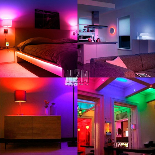 lampara led rgb 3w e27 220 + parlante bluetooth colores
